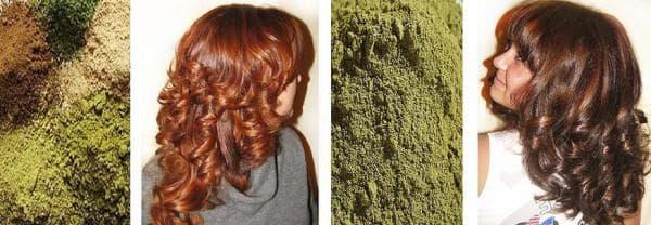 средство из хны для волос