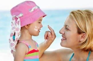 солнцезащитный крем для ребенка 2 лет