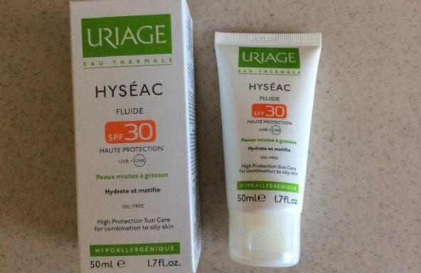 солнцезащитный крем Uriage Hyseac Fluide SPF 30
