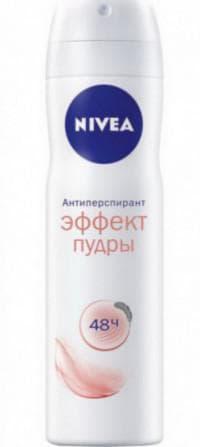 антиперспирант для женщин Nivea «Эффект пудры»