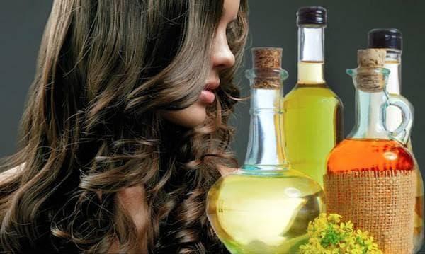 витаминизированная маска с маслом для волос