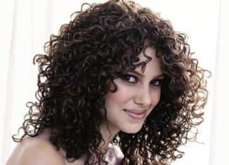 химическая завивка среднего волоса