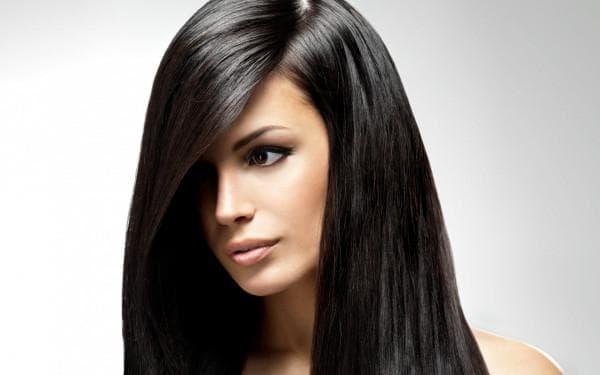 чёрный цвет волос