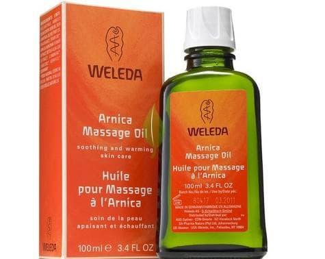 массажное масло для тела Arnica Weleda