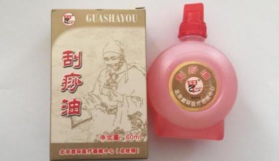 массажное масло для тела Guahsa You