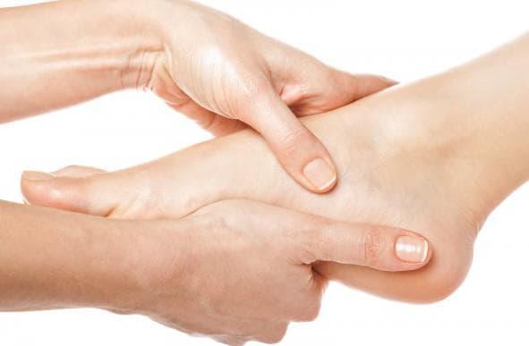 японский массаж на ногах