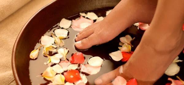 целебные ванночки для ногтей