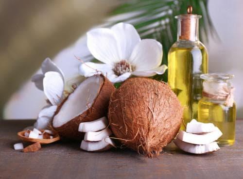 кокосовое и оливковое масло для загара