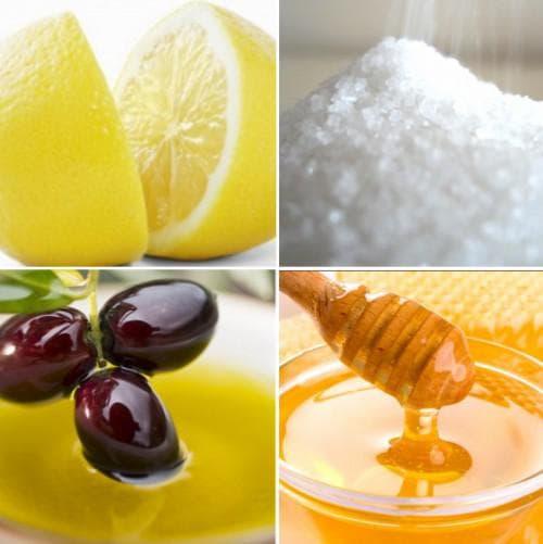 оливковое масло и лимон для загара