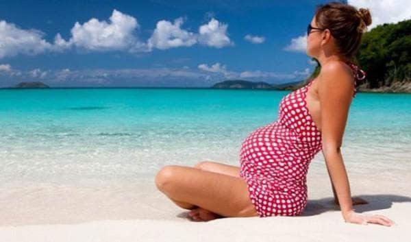 можно ли загорать беременным во втором триместре