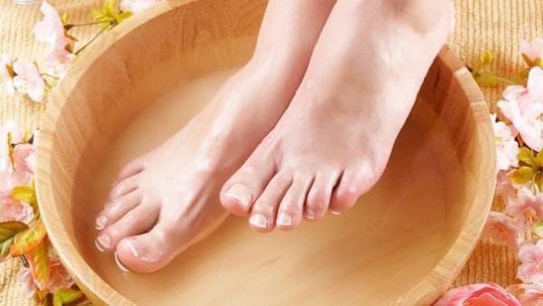 чесночная вода для ног