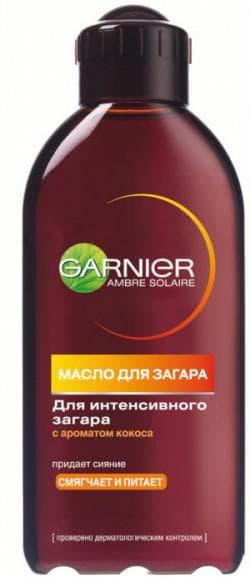 кокосовое масло для загара Гарньер