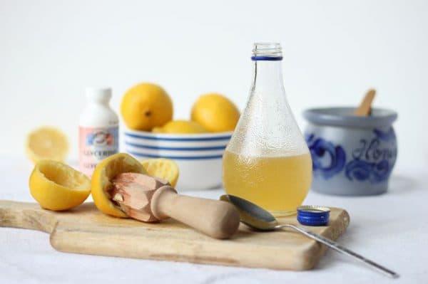 компресс из лимона