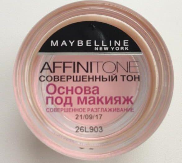 основа под макияж MAYBELLINE Affinitone