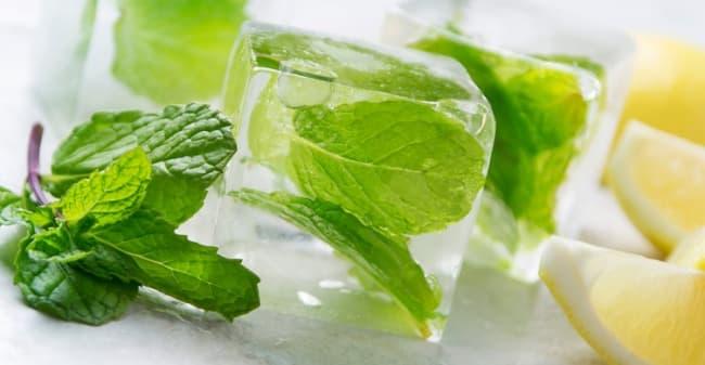 шалфей с мятой со льдом