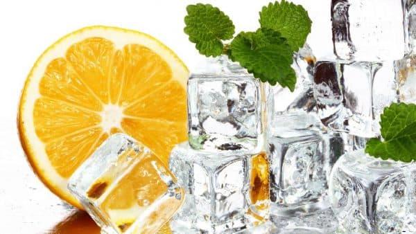 лед с добавлением масел