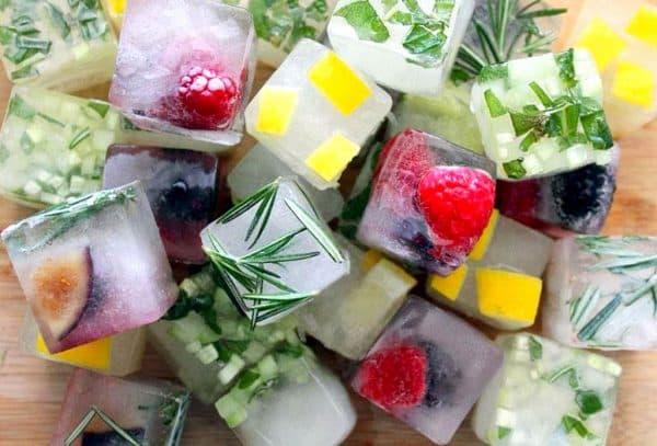 фруктовый лед для кожи лица