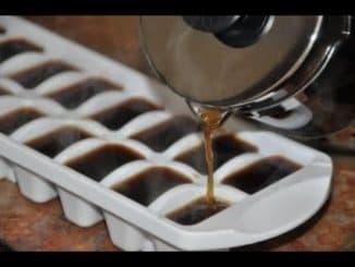 лед из чая и кофе