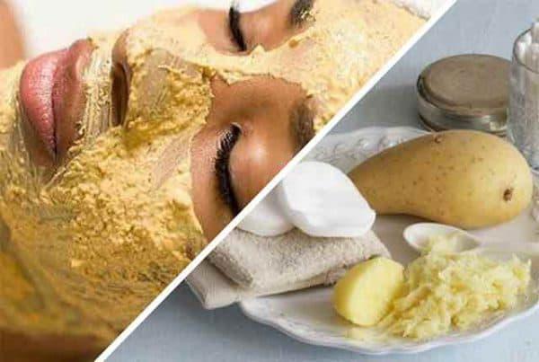 картофельная маска для лица с витаминами