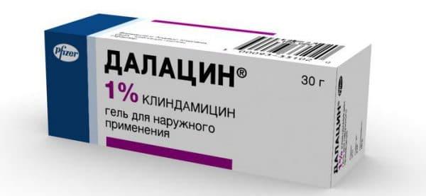 Далацин гель