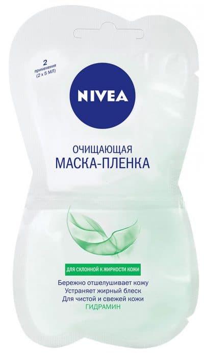 очищающая маска-пленка для комбинированной жирной кожи Nivea