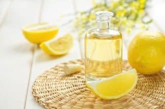 лимонный сок для ногтей