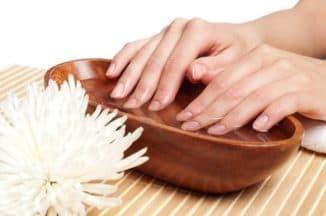 йодно-солевая ванночка для ногтей