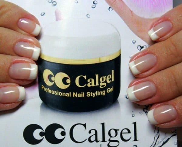 биогель для укрепления натуральных ногтей Calgel