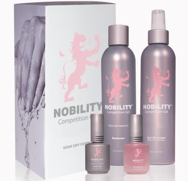 биогель для укрепления натуральных ногтей Nobility