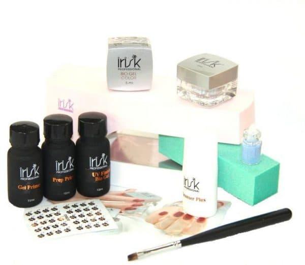 биогель для укрепления натуральных ногтей Irisk