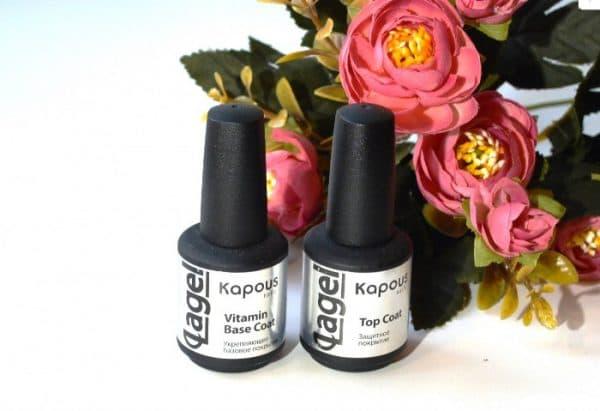 база для лака для ногтей Kapous