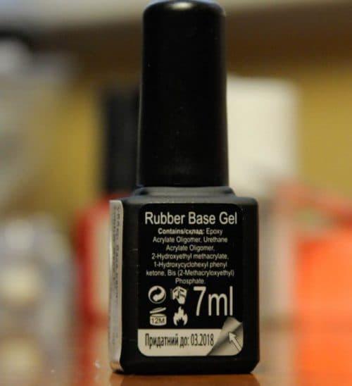 база для лака для ногтей Kodi Rubber Base