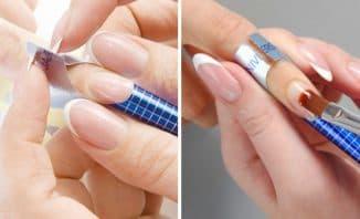 наращивание ногтей однофазным гелем на формах
