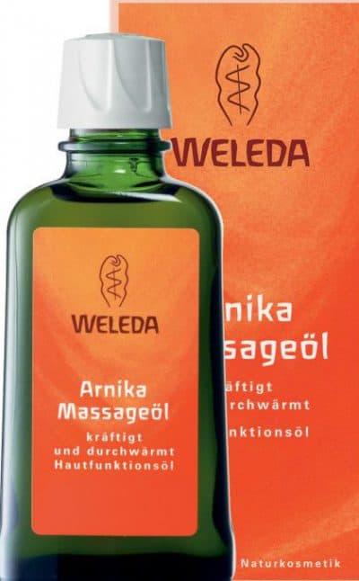 масла для массажа тела Arnica Weleda