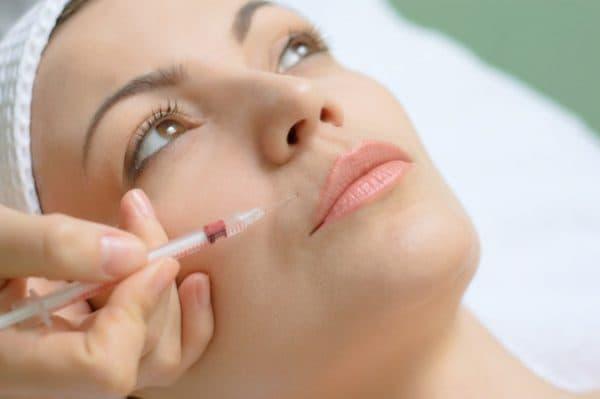 инъекции кожи лица