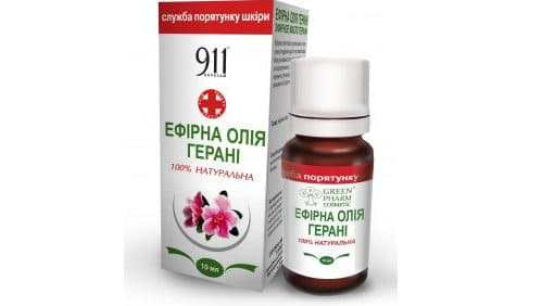антицеллюлитное эфирное масло из герани