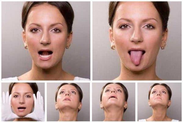 фейсбилдинг укрепление нижней челюсти