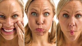 убрать упражнениями брыли на лице
